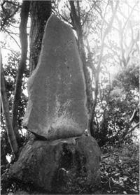 館山市正木.諏訪神社の芭蕉句碑
