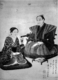67.鈴木あや雄夫妻肖像画   鈴木方子氏蔵