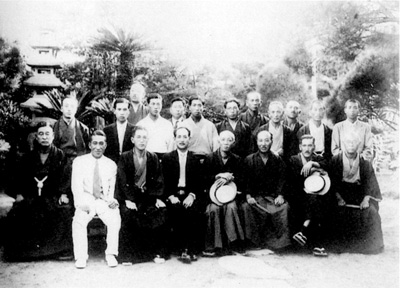 103.安房盟楠会歓迎会写真 昭和9年(1934)  石井治氏蔵