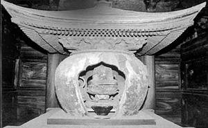 多宝塔内の木造宝塔 千葉県指定文化財