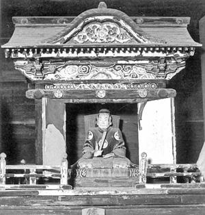 3.東照大権現坐像 宝永8年(1711)