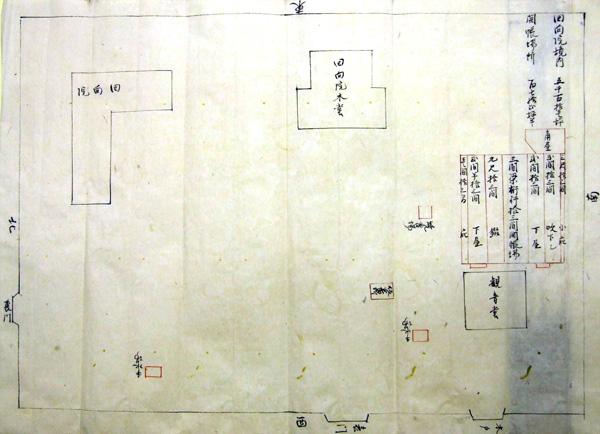 64.回向院境内開帳場絵図 文政2年(1819)