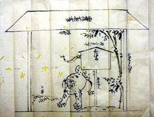 67.開帳場奉納細工物絵図 文政2年(1819)