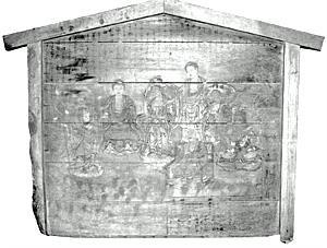 諸尊礼拝図絵馬 明治14年(1881年)