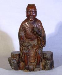 126.神農像   石井美代氏蔵