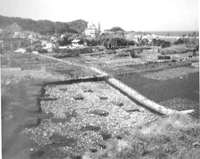 加賀名遺跡でみつかった縄文時代晩期の岩石海岸