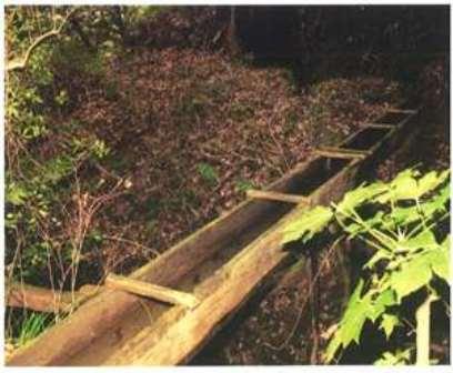 写真1.畑地区灌漑用水路(館山市・畑)