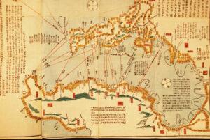 増訂伊豆七島全図<東京湾部分> 弘化4年(1847年)~嘉永6年(1853年)頃