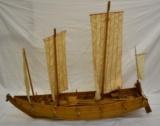 81.ヤンノー船模型</br> 当館蔵