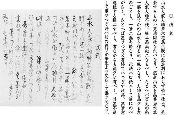 23.山調筆『画法式』