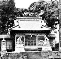 亀ケ原の村社八幡神社