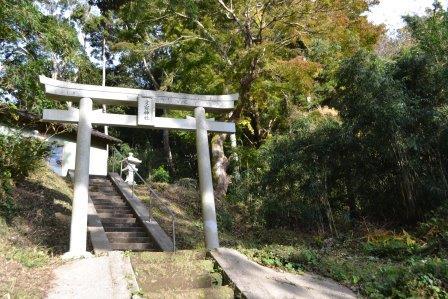 (2) 阿弥陀堂跡と愛宕(あたご)神社