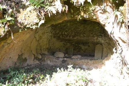 (5) 岩井柵(いわいざく)横穴墓(よこあなぼ)群
