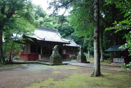 (4)下立松原(しもたてまつばら)神社